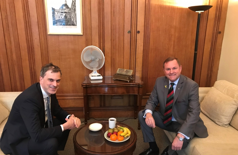 Meeting with Gary Verity, Chief Executive of Welcome to Yorkshire