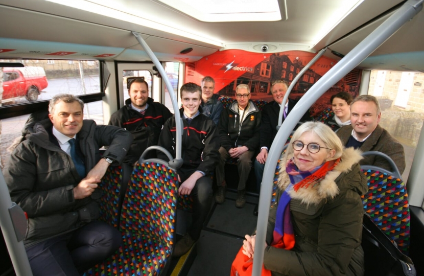 Supporters of the DalesBus Service