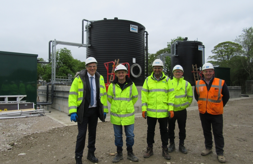 Visiting Yorkshire Water, Skipton