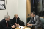 Julian Smith MP and Andrew Jones MP meet with Amanda Bloor