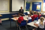 Julian Smith MP at Baldersby St James school