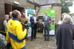 Julian Smith MP Church in the Dale Action Day