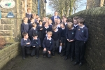 Julian Smith MP at Cowling Community Primary School