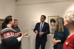 Julian Smith MP at Dementia and Art Exhibition