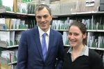 Julian Smith MP at Royal Mail Skipton